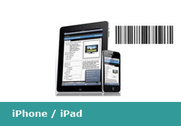 ipad iphone Barcode Scanner